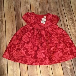 Baby Gap floral print dress size 6 to 12 months